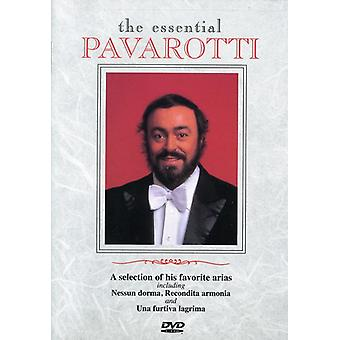 Luciano Pavarotti - importación de USA de Pavarotti esencial [DVD]