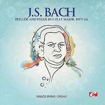 J.S. Bach - Alkusoitto & fuuga Es-duuri suurimpien [CD] yhdysvaltalaisten tuonti