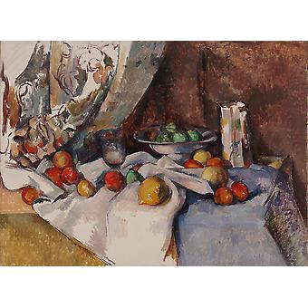 Paul Cézanne - Nature morte plakat Print Giclee