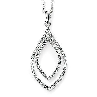 925 Silver Chic Zirconium Trend Necklace