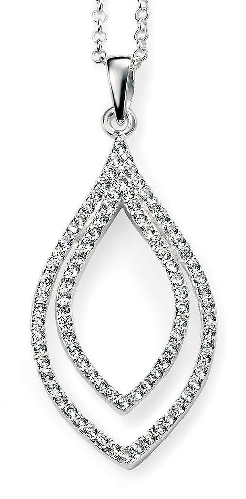 925 Silver Chic Zirconium Necklace Trend