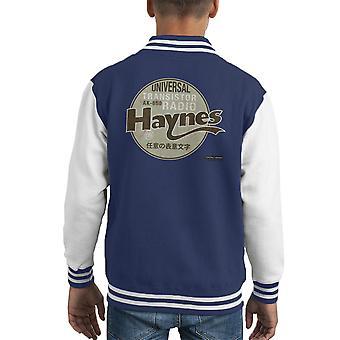 Haynes merk universele AK 650 transistorradio Kid's Varsity Jacket