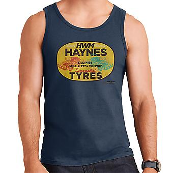 Haynes merk HWM Ford Capri Specialist banden mannen Vest