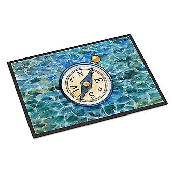Carolines Treasures  BB5347MAT Compass Indoor or Outdoor Mat 18x27