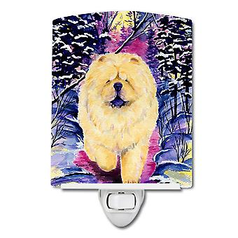 Carolines Treasures  SS1005CNL Chow Chow Ceramic Night Light