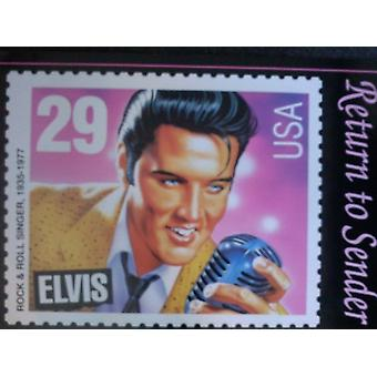 Elvis Presley Return to Sender Poster