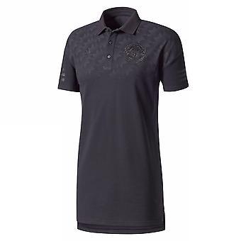 2017-2018 man Utd Adidas Core Polo Shirt (Black)