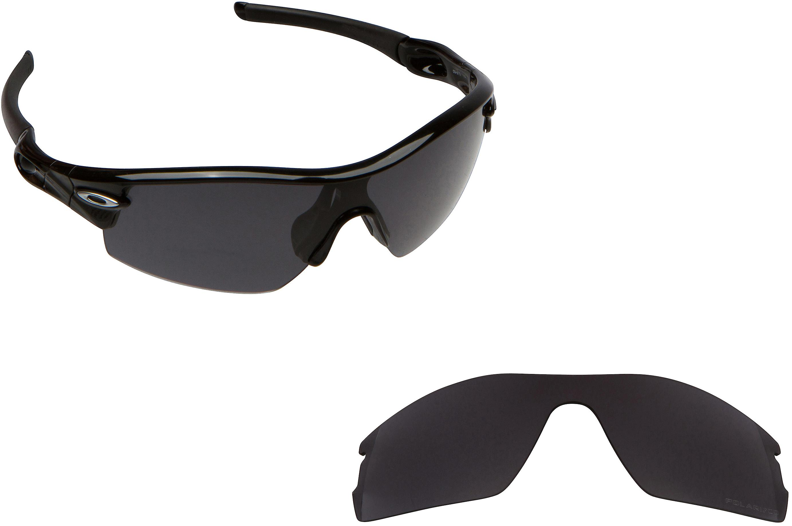 514367225f RADAR PITCH Replacement Lenses Polarized Black by SEEK fits OAKLEY  Sunglasses