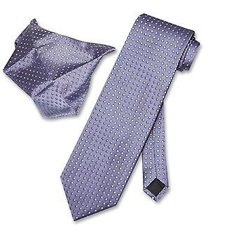 Antonio Ricci NeckTie Handkerchief w Polka Dots Men's Tie Set