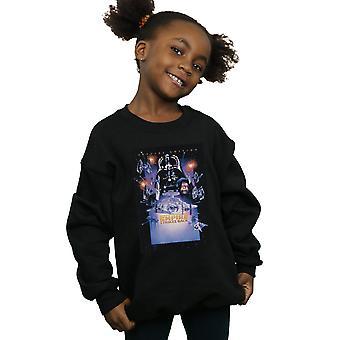 Jenter Star Wars Episode VI film plakat Sweatshirt