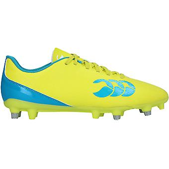 Canterbury Clothing Mens Speed 2.0 Soft PU CCC Logoed Rugby Boots