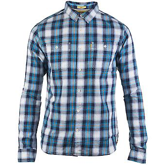 Caterpillar Mens Delavan Long Sleeve Button Down Casual Shirt