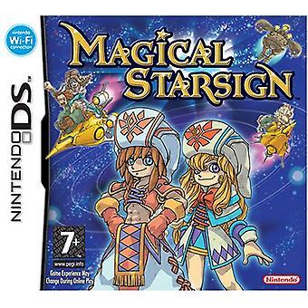 Magisk stjernetegn (Nintendo DS)-fabriks forseglet