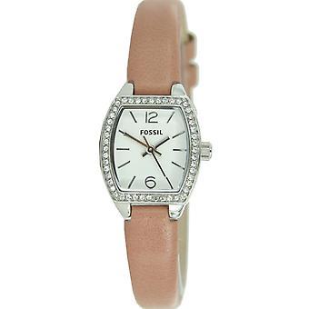 Fossil ladies watch wristwatch leather BQ1215