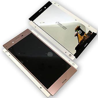 Sony Display LCD Komplett Einheit für Xperia XZ F8831 Pink Ersatzteil
