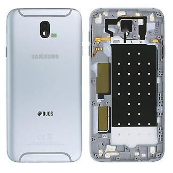 Samsung GH82-14448B крышка отсека для галактики J7 J730F 2017 дуэт Silver