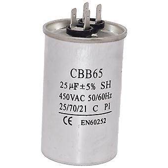 Univerzálny 25UF/MFD AC motor Start kondenzátor 450V