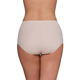 Susa 631-249 Women's London Nude Solid Colour Full Panty Highwaist Brief