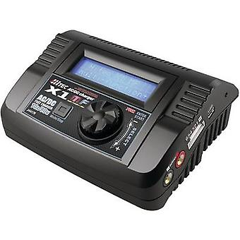 Hitec Multicharger X1MF Scale model multifunction charger 12 V, 220 V 10 A LiPolymer, LiFePO, Li-ion, NiCd, NiMH, Lead-acid