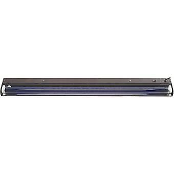60cm Metall UV-Leuchtstoffrohr Set 18 W Schwarz
