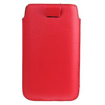 Mobile sag taske dias dække rød