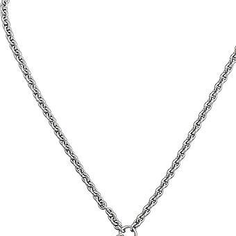 Carrier 925 sterlingsølv for op til 3 vedhæng af perler halskæde 65 cm kæde