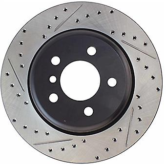 StopTech 127.34131R Sport Drilled/Slotted Brake Rotor (Front and Rear Right), 1 Pack