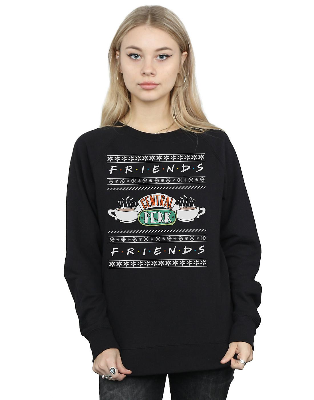 Friends Women's Fair Isle Central Perk Sweatshirt