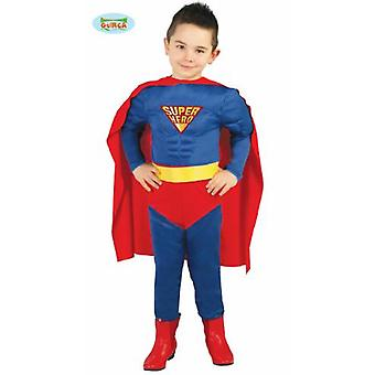 Guirca fantasia de super herói para jovens carnaval strongman super herói