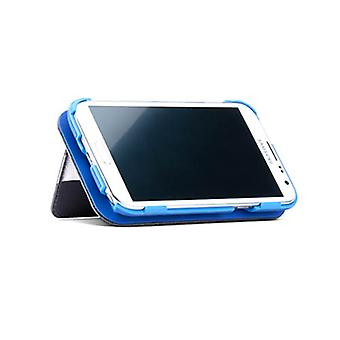 PureGear Folio Wallet Case with Front Cover Convetable Kickstand for Samsung Galaxy S4 (Blue)