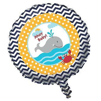 Mic marinar folie balon heliu 45 cmMatrosenparty copii ziua de nastere decorare