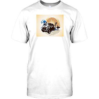 VW Escarabajo Surf - Surf Cool para hombre camiseta