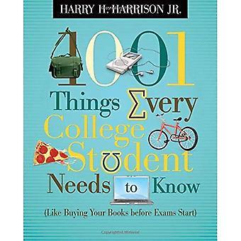 1001 Dinge, die jeder College-Student muss wissen: wie kaufen Ihre Bücher vor Prüfungen Start