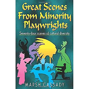 Great Scenes from Minority Playwrights: Seventy-Four Scenes of Cultural Diversity