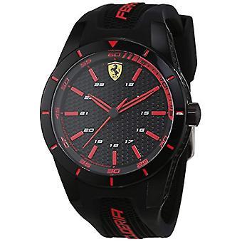 Scuderia Ferrari 0830245 quartz, cadran analogique classique et sangle silicone