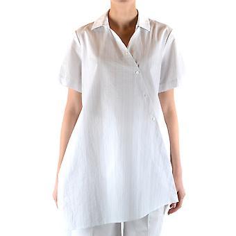Fabiana Filippi Ezbc055045 Camisa de Algodão Branco Feminino'