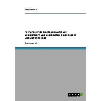 Facharbeit fr Ein Heimpraktikum Soziogramm Und Soziomatrix Eines Kinder Und Jugenheimes von Schlter & Sonja
