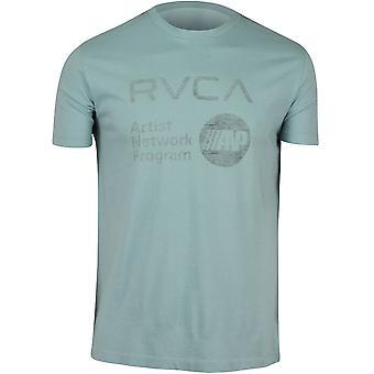 RVCA Mens VA Sport ANP Reverse T-Shirt - Blue Gray/Black