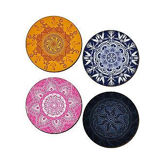 Grindstore Mymystiske Mandalas 4 Piece Coaster sæt