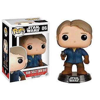 Han Solo Star Wars VII Snow Gear Exclusive Pop! Vinyl Figure
