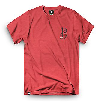 Lrg Good School T-Shirt Red Heather