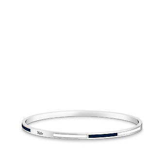 Yale University Bracelet In Sterling Silver Design by BIXLER