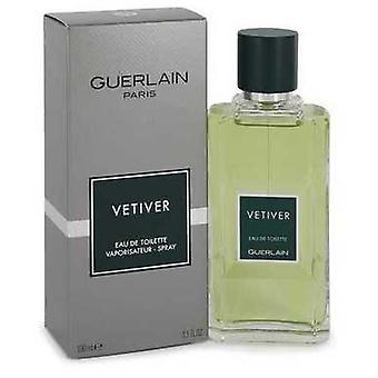Vetiver Guerlain af Guerlain Eau de toilette spray 3,4 oz (mænd) V728-402366