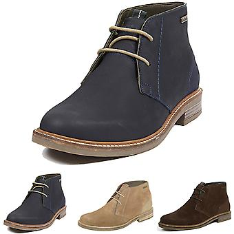 Mens Barbour Readhead Suede Smart Work Office Casual Lace Up Desert Boot