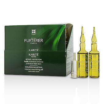 Rene Furterer Karite Nutri Nourishing Ritual Intense Nourishing Oil (Very Dry Hair) 24x10ml/0.33oz