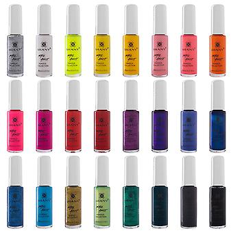 SHANY Nail Art Set (24 berühmte Farben Nagel Kunst Lack, Nagel Kunst Dekoration)
