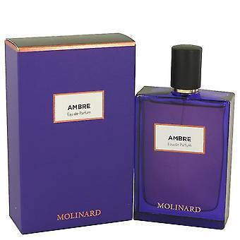 Molinard ambre eau de parfum spray by molinard 537164 75 ml