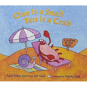 Ene er en snegle, ti krabbe: en telling av føttene bok