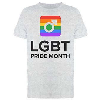 Lgbt Pride Month Gay Tee Men's -Image by Shutterstock