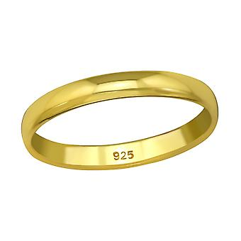Band - 925 Sterling Silver Plain Rings - W38944x